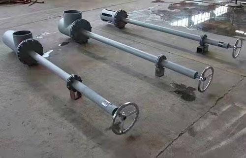 恒聯4寸海底閥完工準備發貨