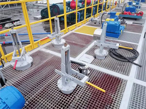 杠桿式海底閥現場使用效果